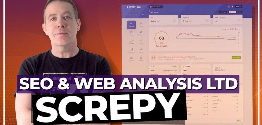 Screpy - AI-based SEO and web analysis tool - Lifetime Deal