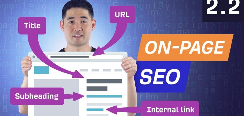 On-Page SEO Pt 2: How to Optimize a Page for a Keyword - 2.2. SEO Course by Ahrefs