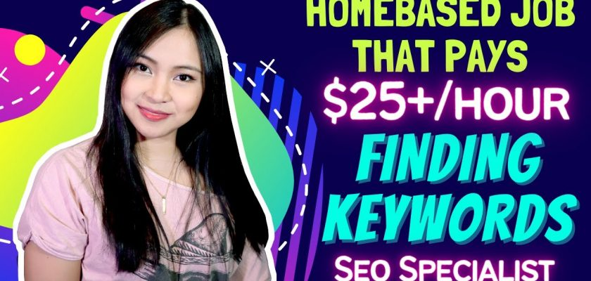 Earn up to $25+/Hour Working from Home as an SEO Specialist